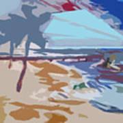 The Quay-seaside Art Print