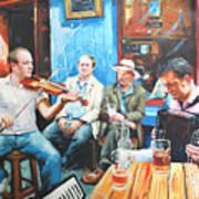 The Quay Players Art Print