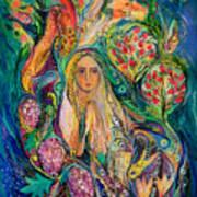 The Queen Of Shabbat Art Print
