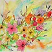 The Queens Garden Art Print