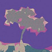 The Quilted Rain Tree At Ramona Art Print