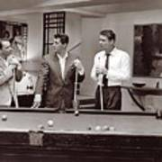 The Ra Pack Sammy Davis Jr, Frank Sinatra Dean Martin Art Print