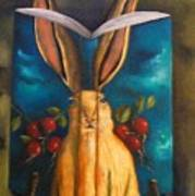The Rabbit Story Art Print