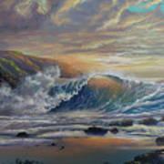The Radiant Sea Art Print