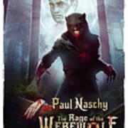 The Rage Of The Werewolf - Version 3 - Art Print