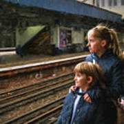 The Railway Children Art Print