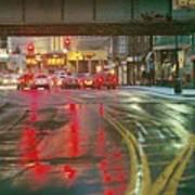 The Rain Painting Art Print