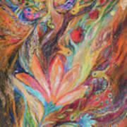 The Rainbow's Daughter Art Print