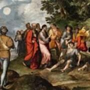 The Raising Of Lazarus Art Print