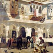 The Rajah Starting On A Hunt Art Print