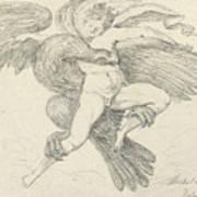 The Rape Of Ganymede Art Print