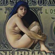 The Rape Of Lady Liberty Art Print