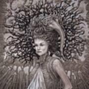 The Ravenous Pregnancy Art Print