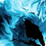 The Raven's Blues Art Print