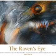 The Raven's Eye Art Print