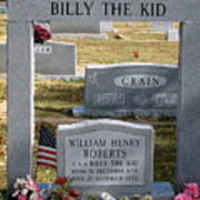 The Real Billy The Kid Art Print