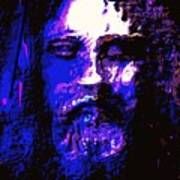 The Real Face Of Jesus Art Print
