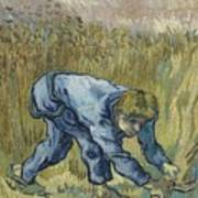 The Reaper After Millet Saint Remy De Provence, September 1889 Vincent Van Gogh 1853  1890 Art Print