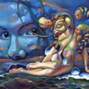 The Rebirth Of Venus Art Print