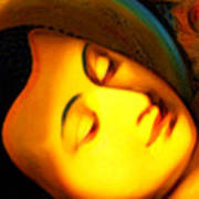 The Recining Buddha Art Print