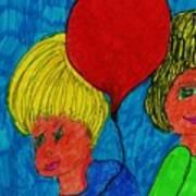 The Red Balloon  Art Print