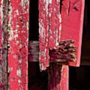 The Red Barn 4 Art Print