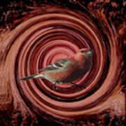 The Red Bird Art Print