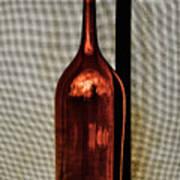 The Red Glass Bottke Art Print