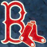 The Red Sox Art Print