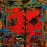 The Red Tree -or- Paint Art Print