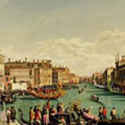 The Redentore Feast In Venice Art Print