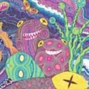 The Reef Art Print by Wendy Hagelgans