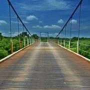 The Regency Bridge 3 Art Print