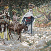 The Return From Egypt Art Print by Tissot