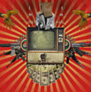 The Revolution Will Not Be Televised Art Print