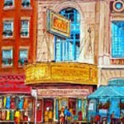 The Rialto Theatre Montreal Art Print