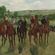 The Riders, 1885 Art Print