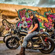 The Riders Art Print