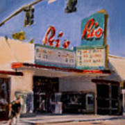 The Rio Theater Art Print
