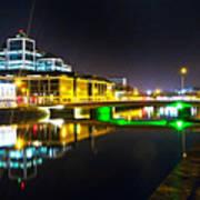 The River Liffey Reflections 3 Art Print