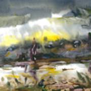 The River Nistru IIi Art Print
