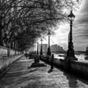 The River Thames Path Art Print