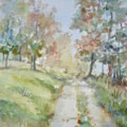 The Road Home Art Print by Dorothy Herron