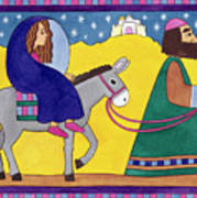 The Road To Bethlehem Art Print