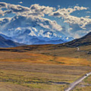 The Road To Denali Art Print
