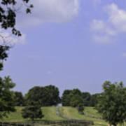 The Road To Lynchburg From Appomattox Virginia Art Print