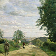 The Road To Sevres Art Print