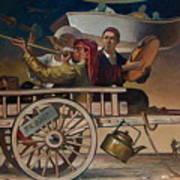 The Road To Tashkent Art Print