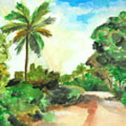 The Road To Tiwi Art Print