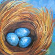 The Robin's Nest III Art Print